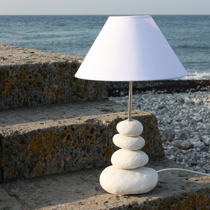 Shoreline pebble table lamp coastal lamp buy the sea shoreline pebble table lamp coastal lamp aloadofball Image collections